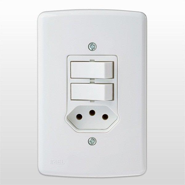 Instala o de interruptor duplo com tomada passo a passo - Modelos de interruptores de luz ...