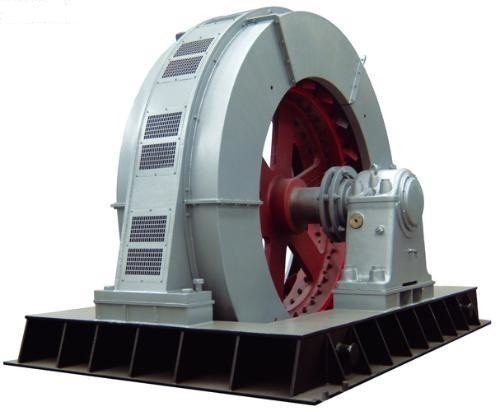 Example of three-phase synchronous generator motor