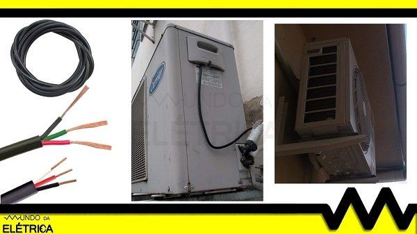 Como Dimensionar Cabos Para Ar Condicionado Mundo Da Eletrica