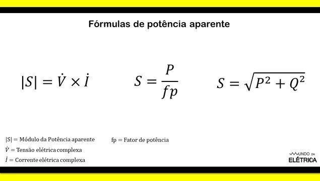 Fórmulas de potência, quais são? - Mundo da Elétrica