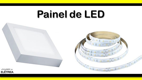 Types of luminaires, LED board.